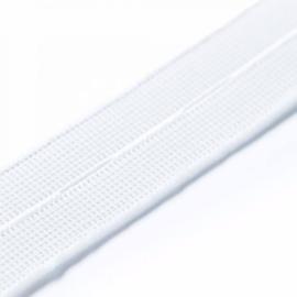 Prym knoopsgatenelastiek 18mm wit