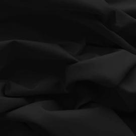 Effen katoen - Zwart
