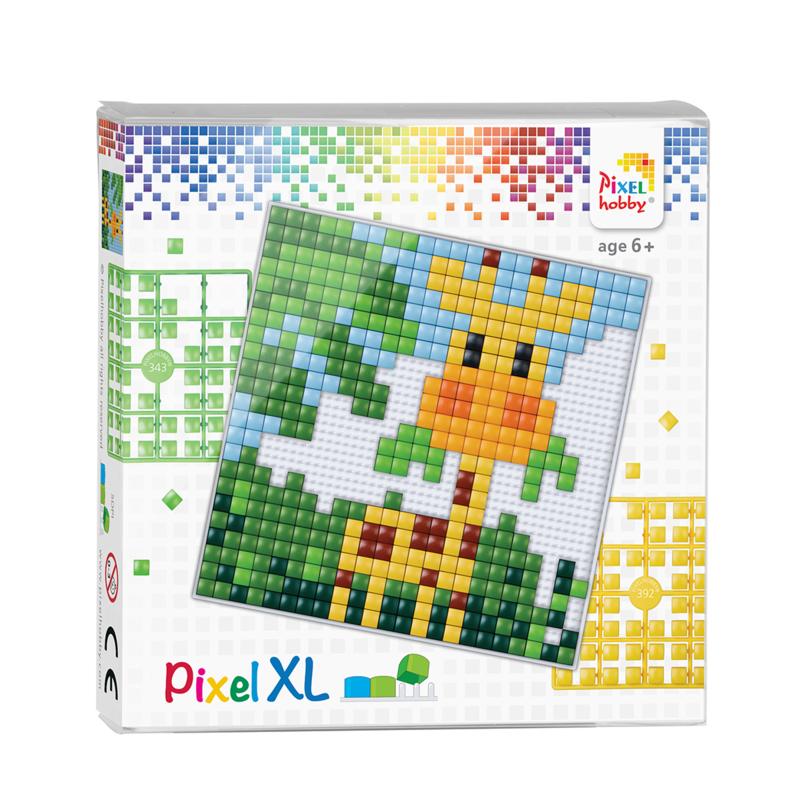 Pixel XL set - giraffe