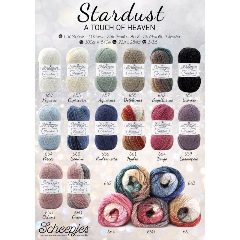 Stardust - andere kleuren