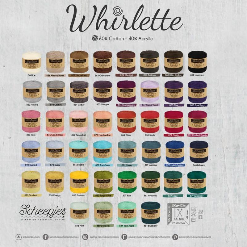 Whirlette - andere kleuren