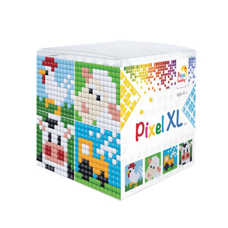 Pixel kubus XL - boerderij