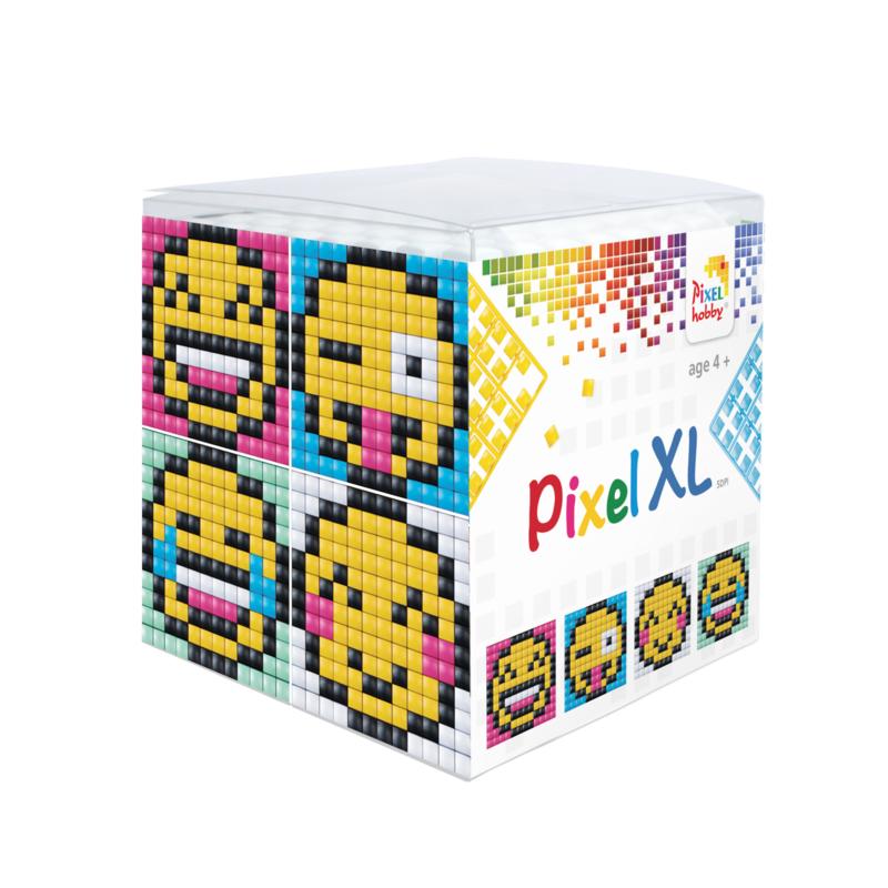 Pixel kubus XL - smilies