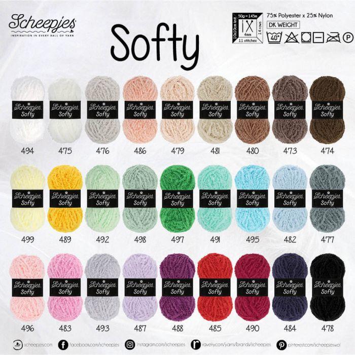 Softy - andere kleuren