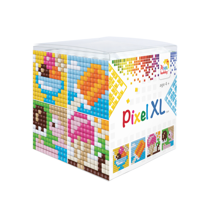 Pixel kubus XL - ijsjes