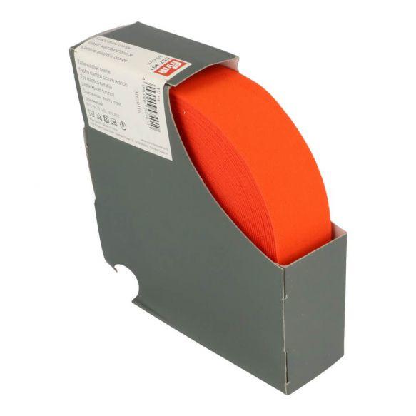 Prym taille elastiek 38mm oranje