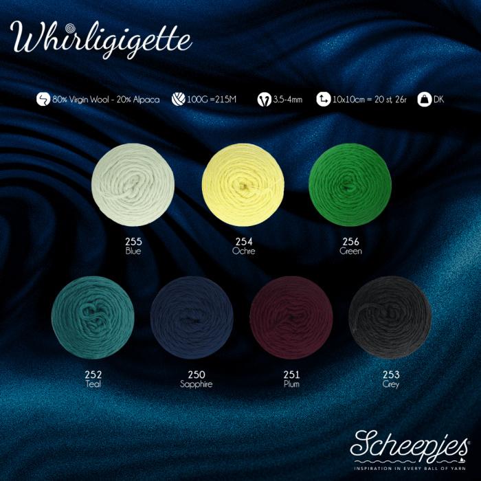 Whirligigette - andere kleuren