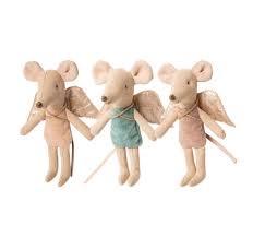 Maileg 3 Little Fairy Mouse