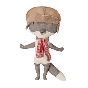 Maileg Wolf With Hat