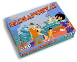 Passaportas Game NL/FR/ENG/D - reizen door de wereld -