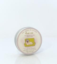 Blikje lavendel/graan hond