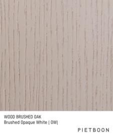Brushed Oak Opaque White