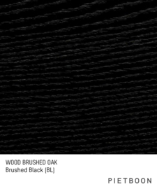Brushed Oak Black