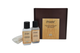 Silvapur® complete care set for oiled and waxed wooden furniture