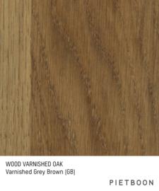 Varnished Oak Grey Brown