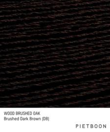 Brushed Oak Dark Brown