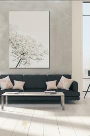 Vlierbloesem Soft White - Alu print