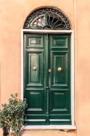 Toscane green - dubbel met envelop
