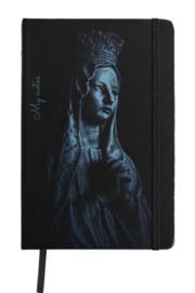 Notitieboekje Maria  - zwart