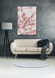 Little pink flowers - Alu print
