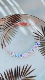 Armbandje 'sunshine'