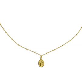 Ketting dream night - goud, zilver