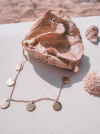 Ketting only circles - goud, zilver
