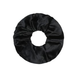 Scrunchie winter chai - zwart