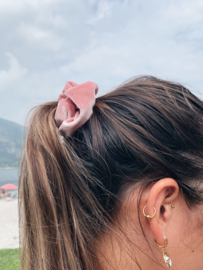 Scrunchie color power - baby pink