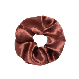 Scrunchie sweet as satin - wijnrood