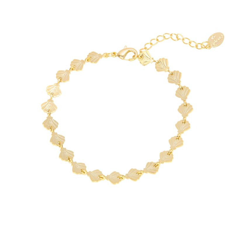 Armbandje shells forever - goud, zilver