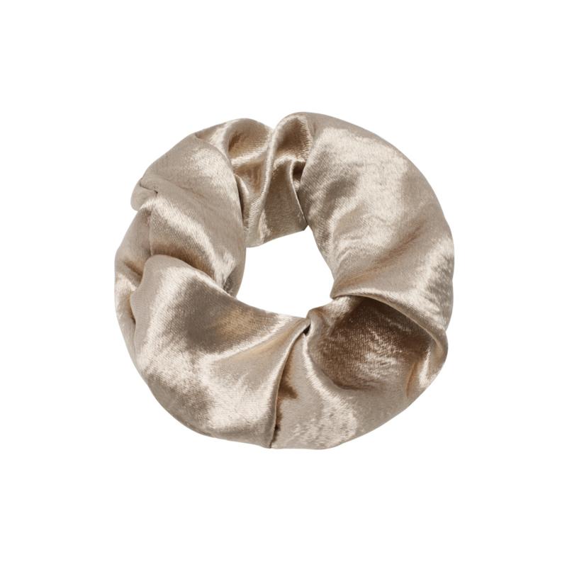 Scrunchie sweet as satin - goud