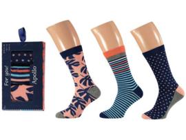 Heren sokken Apollo giftbox