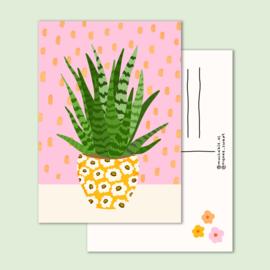 kaart kleine plant