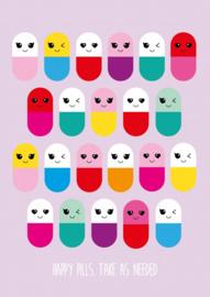 kaart happy pills