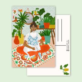 kaart plantlady
