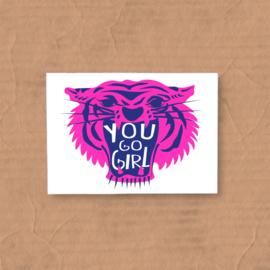 kaart you go girl
