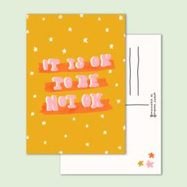 kaart it's ok not to be ok