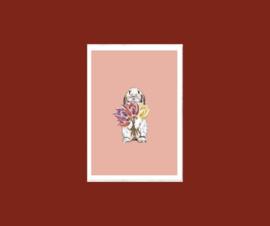 kaart  konijn