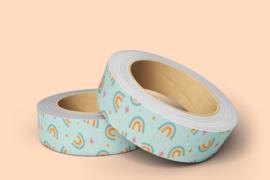 washi tape rainbow
