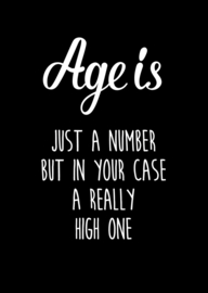 kaart age is just a number