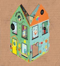 boek pop up huis