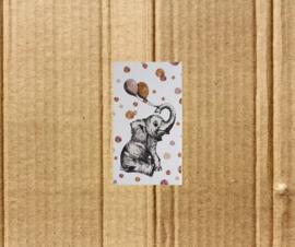 minikaart olifantje
