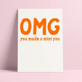 kaart baby mini you