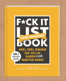 boek f*ck it list voor vrienden