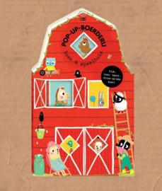 boek pop up boerderij