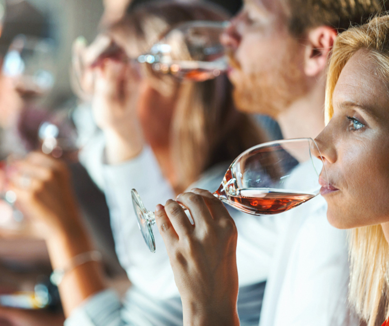 Online winetasting