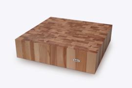 Hakblok BEUK kops, 40 x 40 x 10 cm