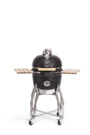 """Yakiniku medium grill 16"""" met onderstel en zijbordjes"""