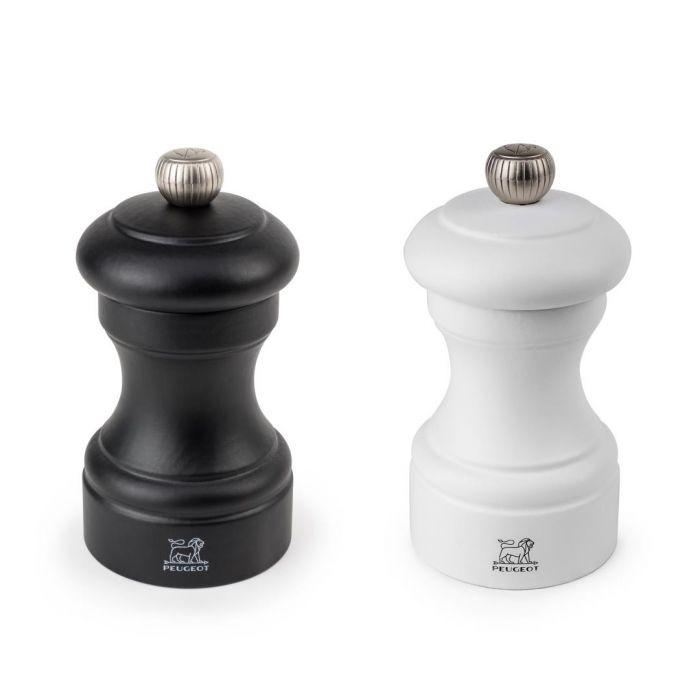 Peugeot Geschenkset Bistro Duo Noir & Blanc, 10 cm